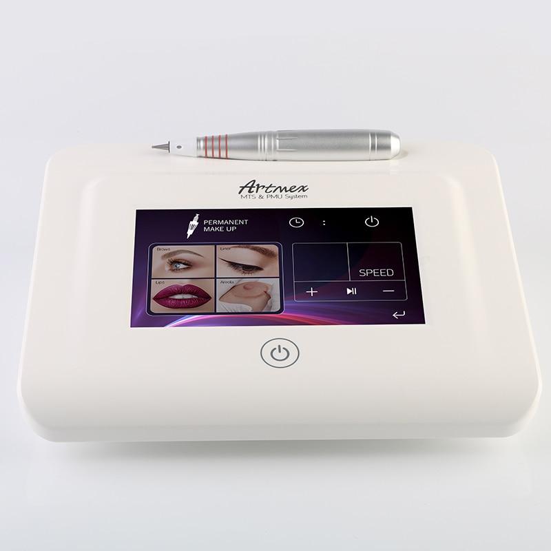 Direct Selling Artmex V11 Permanente Macroblading Digital Permanent Makeup tattoo Machine micro blading pen Eyebrow Eyeliner Lip (5)