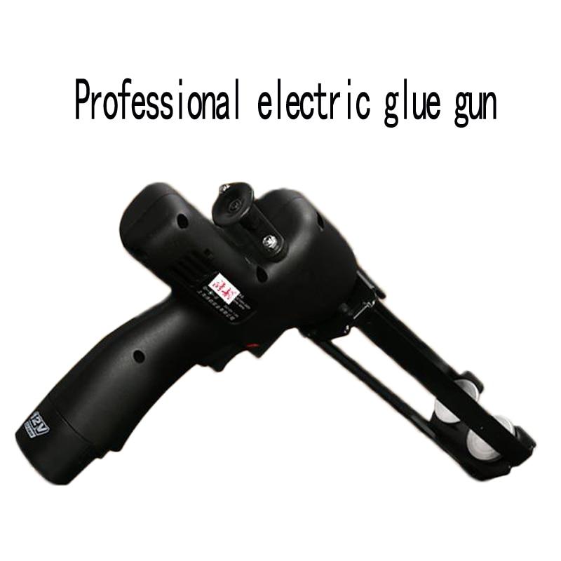 1pc Double pipe hydraulic glue gun labor saving glue gun electric smart tile beauty seam glue gun construction tools 12V