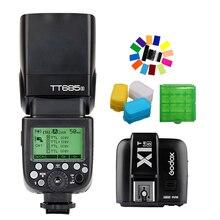 Godox TT685S 2.4G HSS TTL GN60 Flash Speedlite+ X1S Trigger Transmitter Kit for Sony A58 A7RII A7II A99 A7R +Gift
