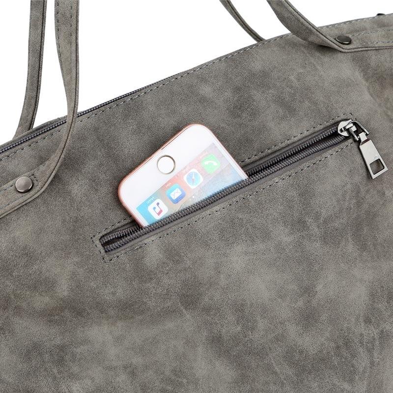 ombro borla bolsa pu de Size : L43w14h27cm