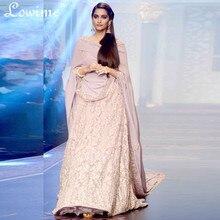Runway Fashion Spitzenkleid Partyabend mit Wrap Appliques Indischen Kleid Backless Abendkleid 2016 Saudi Arabisch Kanftans