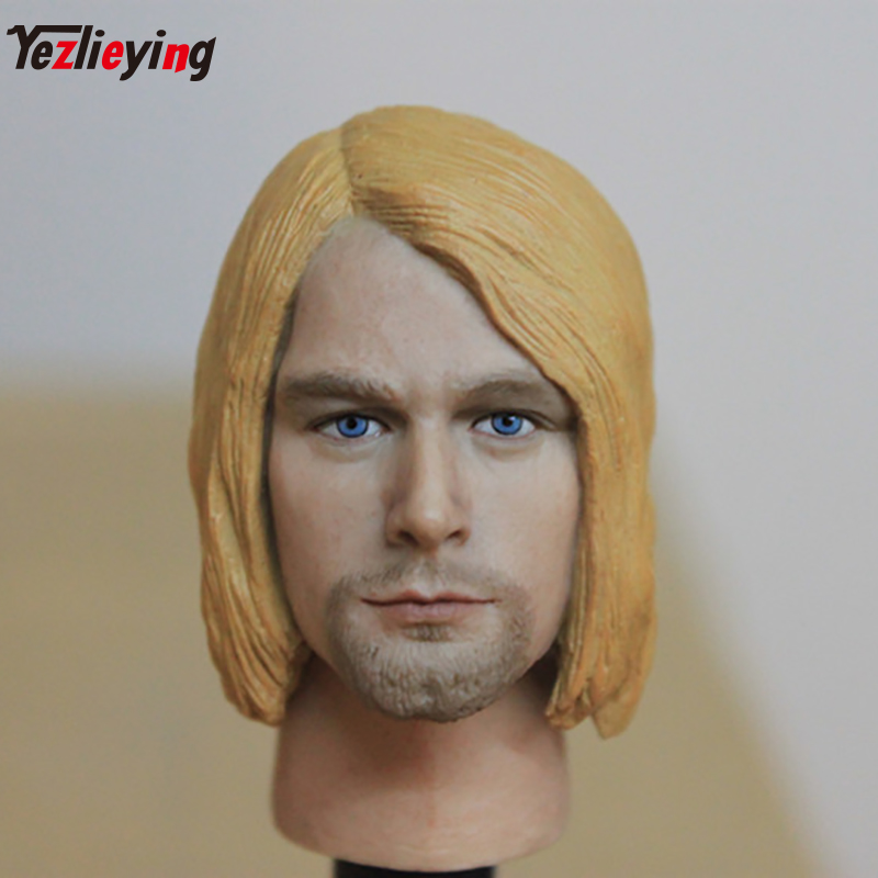 TopToys Headplay 1/6 Scale Accessories Head Sculpt Male Hot Sideshow 068 Custom Kurt Cobain Rock Singer HTTOYS Body Figure Doll lefard фоторамка joses 2х18х23 см