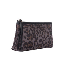 Leopard Cosmetic Bag Waterproof Printing Luxury Blue Toiletry Women Customize Style For Travel  Print Practical #YL10