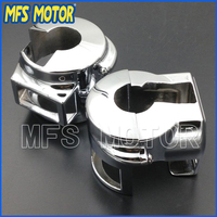 Motorcycle Part For Honda VTX 1800 model C / R / S / F / N 2002 2007 CHROME Motorcycle Switch Housing Cover