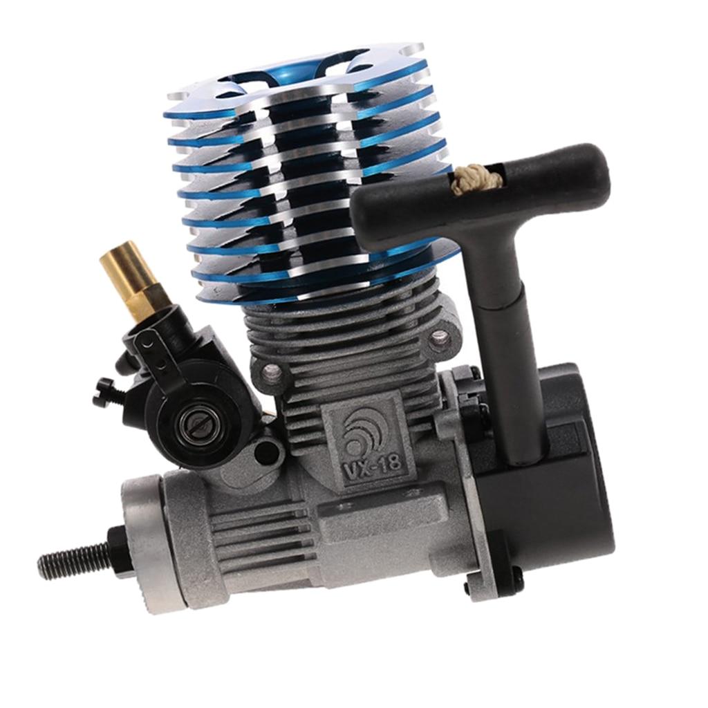 VX 18 2.74cc Pull Start Nitro Engine for 1/10 HSP 94166 94177 94188, HPI, Redcat RC Cars