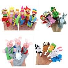 Toys Gadgets Puppet Finger-Hand Handpop Family Children Cartoon for Party-Accessories