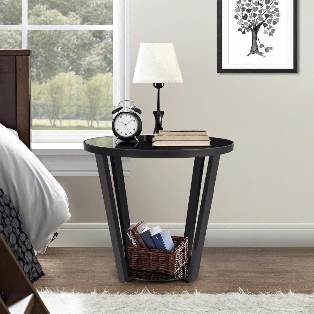 Black Glass Corner Table Reviews line Shopping Black Glass