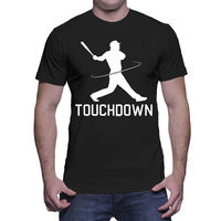 Touchdown Baseballer Footballer Confused Sportser Player Team Mens T Shirt T Shits Printing Short Sleeve Casual