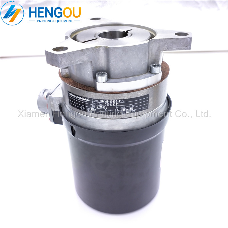 2 Pieces XL75 CD74 New Style Motor CD74 XL75 ink fountain roller motor SN. Nr. DE0418262 CNVMS 4085G 43/G L2.105.3051 Printer Parts     - title=