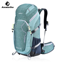 ANMEILU Outdoor Camping Backpack Mountaineering Travel Backpack Hiking Climbing Hunting 50L Backpacks Free Water Cover Bolsa