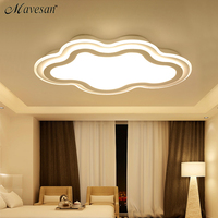 New Ceiling Lights LED Lamp White Color Remote Control Cloud Type For Bedroom Living Room Lights