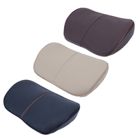 Ergonomic Car Seat Memory Cotton Neck Rest Pillow Headrest Pad Cushion Comfortable Leather Waist Pillow Car