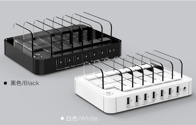 Многофункционална USB зарядна станция - Резервни части и аксесоари за мобилни телефони - Снимка 6