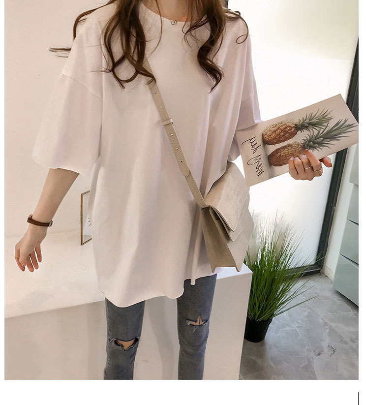 Candy Color Short Sleeve Loose T-Shirts Girls Summer 19 New Cool O-Neck Boyfriend Student Women T-Shirt Lady Tops Plus Size 27