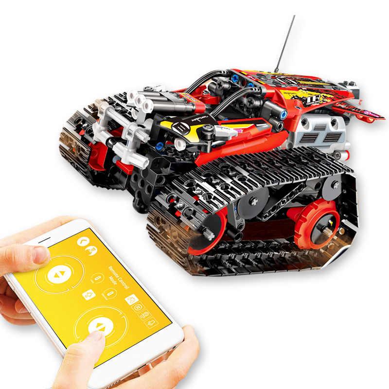 Série Technic A Pista RC Carro de Corrida de controle Remoto-Conjunto de Blocos de Construção Tijolos Educacionais Presentes Brinquedos Compatível 42065