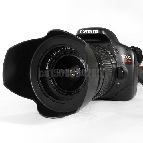 2 Pcs 58MM /& 52MM Petal Flower Lens Hoods for Canon /& Nikon DSLR