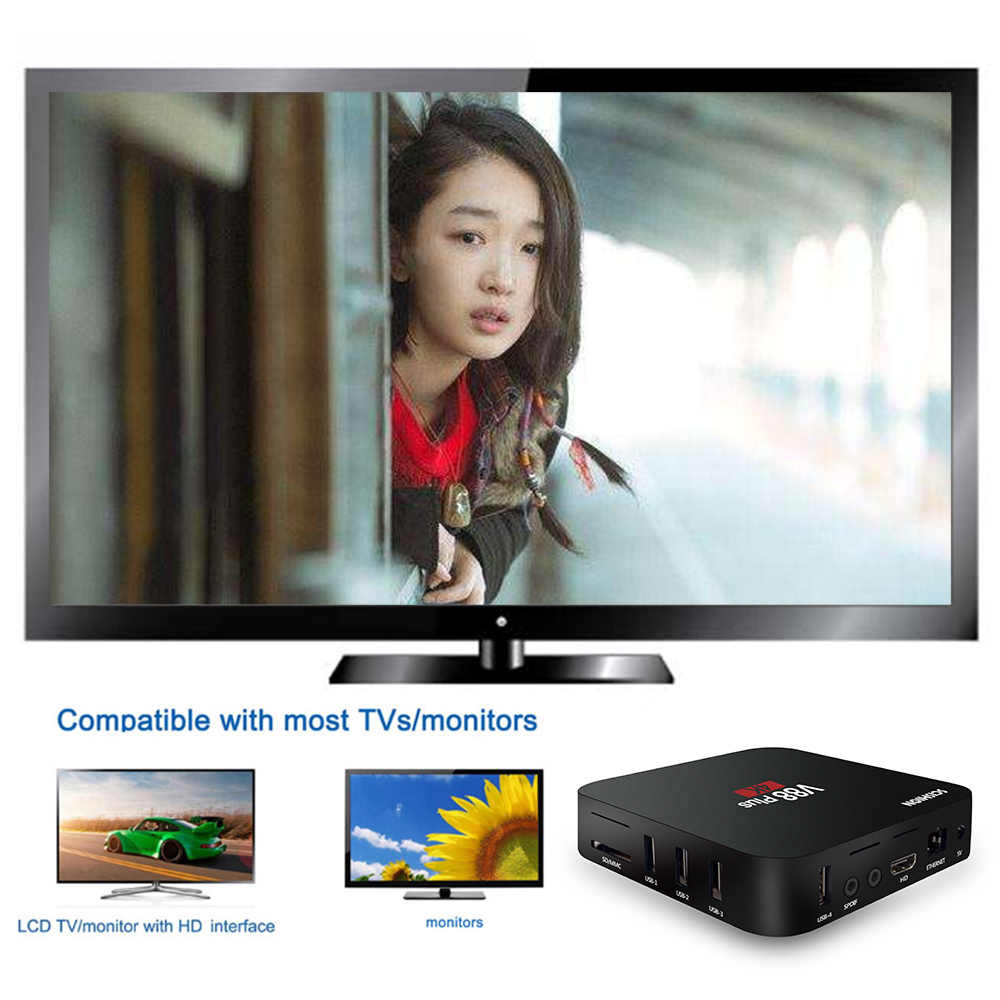 Scishion V88 Più Astuto di Android 8.1 Tv Box RK3229 Quad Core 4K HDR10 2 Gb/16 Gb Miracast dlna Wifi Hd Media Player Pk X96MINI