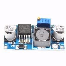 100ピースlm2596降圧電源モジュール3a調整可能な降圧モジュール安定化オーバーlm2576