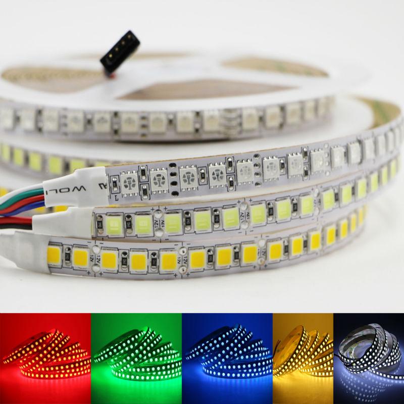 Bright 5050 Tape Light: Led Strip Light 5054 SMD Non Waterproof Tape Fita 5M DC