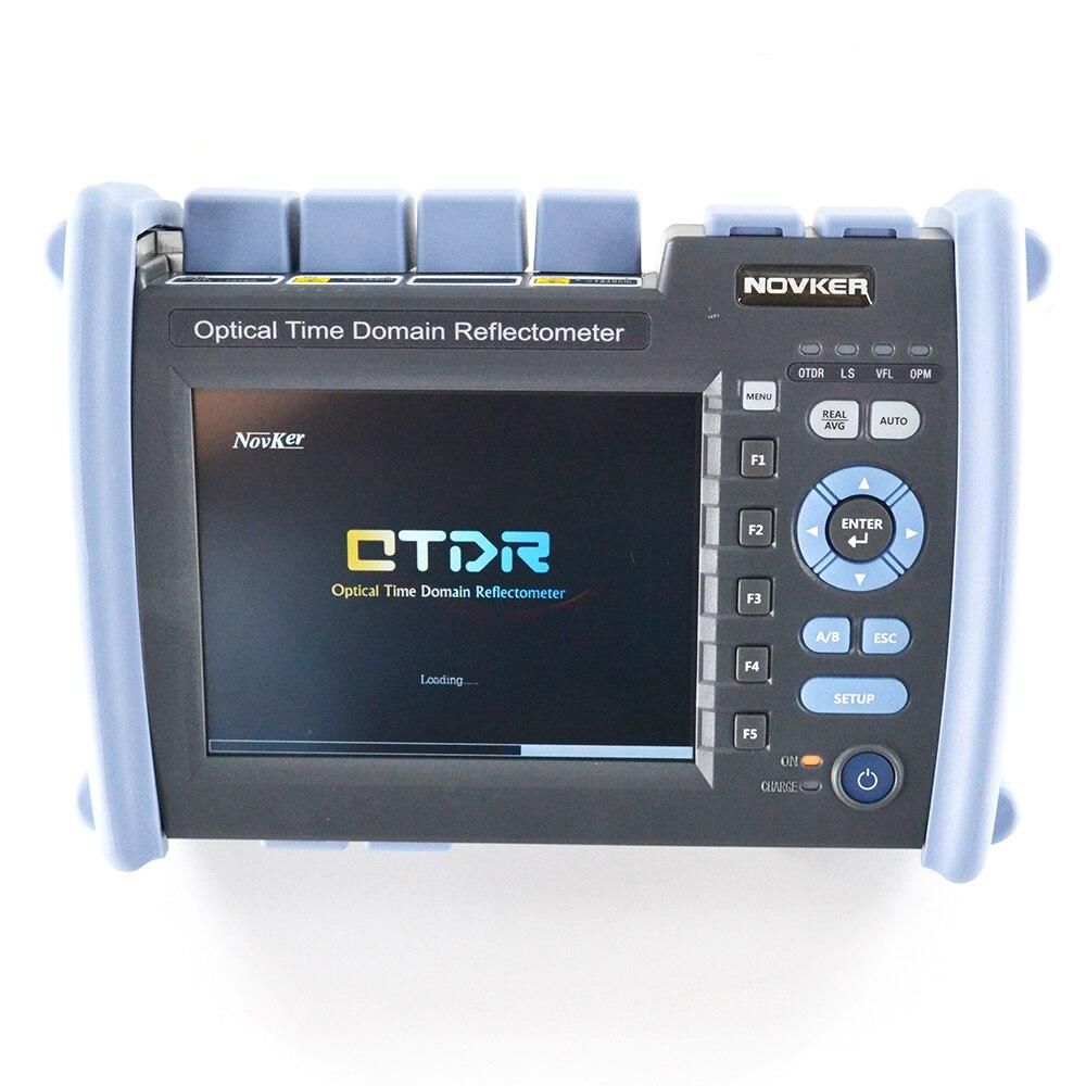Multifunções NK6000-SM1 SM e MM OTDR 1310/1550/850/1300 37/35/26/28dB construído em fonte de luz de fibra VFL iolm OPM