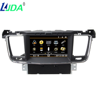 Head Device Unit Receiver WINCE CAR Audio DVD Player FOR PEUGEOT 508 Gps Multimedia BT WIFI