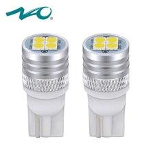 НАО t10 led w5w Светодиодная лампа 1,9 Вт для авто тюнинг автомобилей 12 V светодиодные t10 W5W лампочки для авто 5W5 огни w5w t10 Белый Галогенные желтый