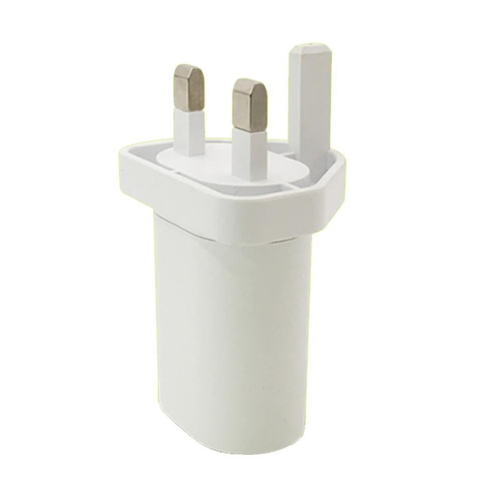 1pcs Universal UK US AU To EU USB Plug Power Socket Plug Travel Charger Adapter Converter For Iphone Ipad  Xiaomi Phone Charger