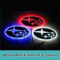 1 шт. 4D Привело Задние Эмблемы Автомобилей Логотипа Свет Знак Лампы для Forester Наследие Impreza Outback Tribeca XV Стайлинга Автомобилей
