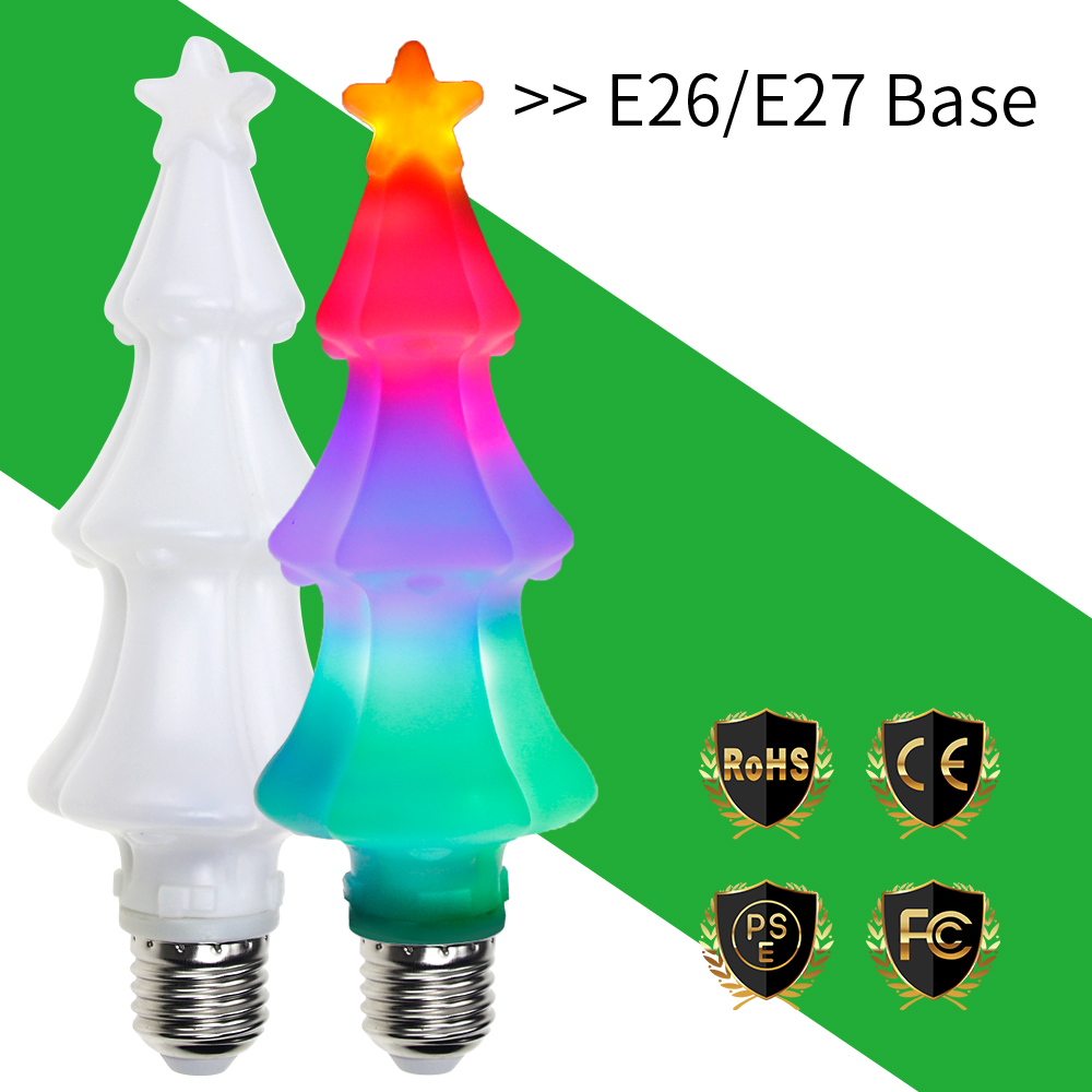 Detail Feedback Questions About Canling 2018 Led Fairy Light E27 Christmas Tree Lamp 3w E26 Flame Effect Bulb Ac85 265v Decoration