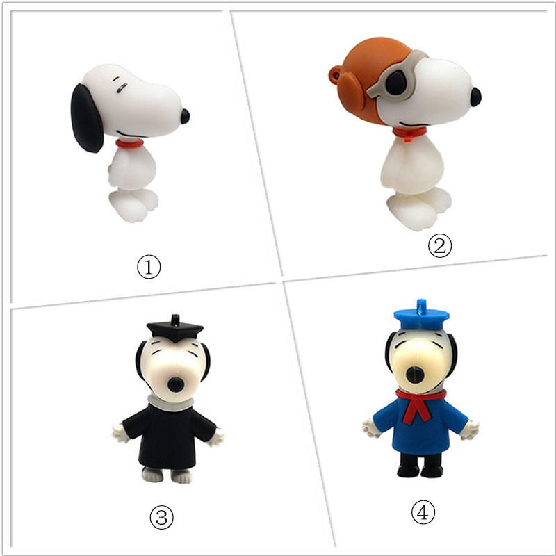 Pendrive Cartoon Doctoral Dog Usb Flash Drive 4GB 8GB 16GB 32GB 64GB Cute Music Dog Memory Stick  Creative Gift Pen Drive Bellek