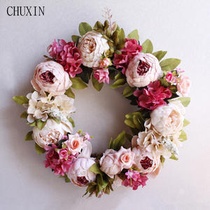 Chu Xin Silk Peony Artificial Flowers Home Party Decor