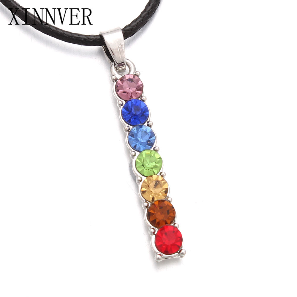of pendant product necklace stone cluster semi precious silver wrapped sterling image