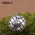 Authentic 925 Sterling Silver Earth globe Prata Clipe Charme Beads Serve Para Pandora Original Pulseira DIY Fazer Jóias