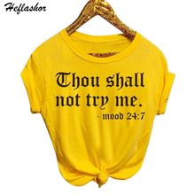 680d9a18d7a Heflashor 2019 Summer Women Casual Loose T-shirt O-Neck Short-sleeved  Printed