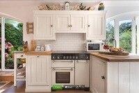2017 Горячие продаж бесплатно дизайн фанеры туши твердой древесины модульная кухня мебель шкафы поставщиков Китай