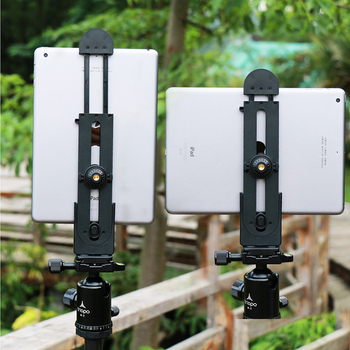 Ulanzi for iPad Professional Tablet Tripod Mount 5-12'' Universal Stand Clamp Adjustable Vertical Bracket Holder Adapter 1/4