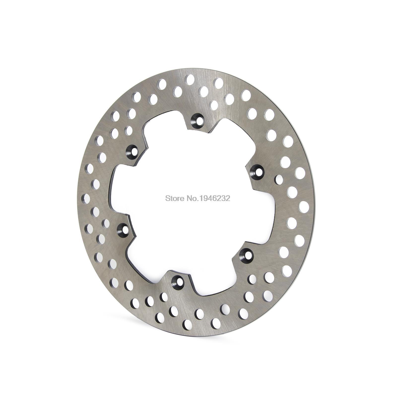 Motorcycle Steel Rear Brake Disc For Suzuki DR 125 SMK8/SMK9/SML0 08-12 motobike front disks sintered copper fa185 motorcycle brake pads for suzuki dr 125 smk8 smk9 sml0 08 11