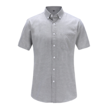 Dioufond Summer men shirt camisa Mens Short Sleeve Shirt Casual Solid Color Top Splicing Basic Fashion Men Clothing