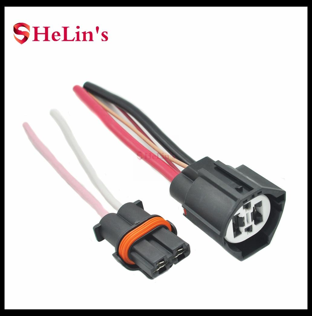 Radiator Cooling Fan Control Module Relay ECU Wire/Plug/Adapter/Connector For Ford VOLVO Lincoln Mercury MAZDA ALFA ROMEO