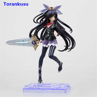 Date A Live Yatogami Tohka Action Figure Uniform Ver. PVC Collectible Toy Figuras Anime Figure Girl Sex Doll Kids Gift Model XP