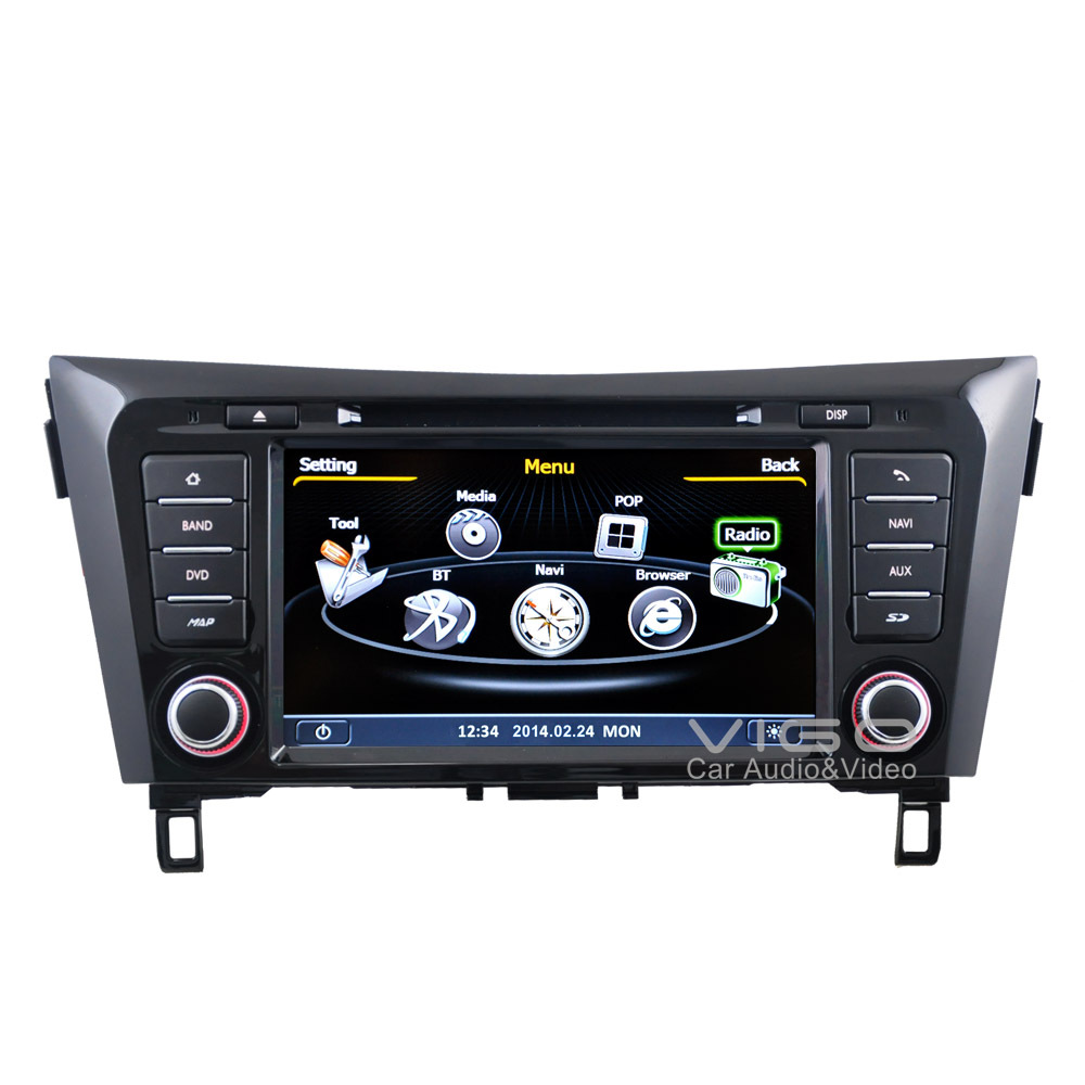 car stereo for nissan qashqai x trail 2014 gps navigation. Black Bedroom Furniture Sets. Home Design Ideas