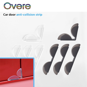 Overe 1Set Car Door Edge Guard Anti Collision Sticker Strips For BMW E60 E36 E46 E90 E39 E30 F30 F10 F20 X5 E53 E70 E87 E34 image