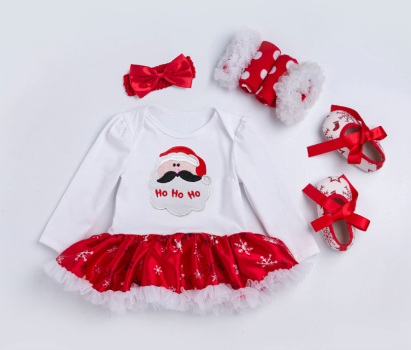 Meu primeiro natal conjuntos de roupas para