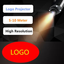 Logo Project Lens Shop Light Mall Restaurant Custom Logo Projector Projection Log Bar Disco Log Glass 5 10 Meter Advertising Led(China)