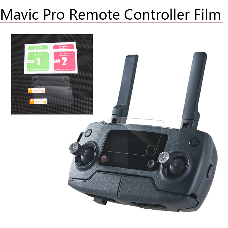 dji-font-b-mavic-b-font-pro-font-b-mavic-b-font-2-pro-zoom-controller-display-lens-film-screen-protector-hd-clear-anti-scratch-tempered-dust-proof-glass