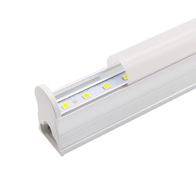 LED Tube T5 Lamp 10W 6W 220V - 240V PVC Plastic Fluorescent Light Tube 600mm 300mm Home LED Wall Lamp Warm Cold White Luces