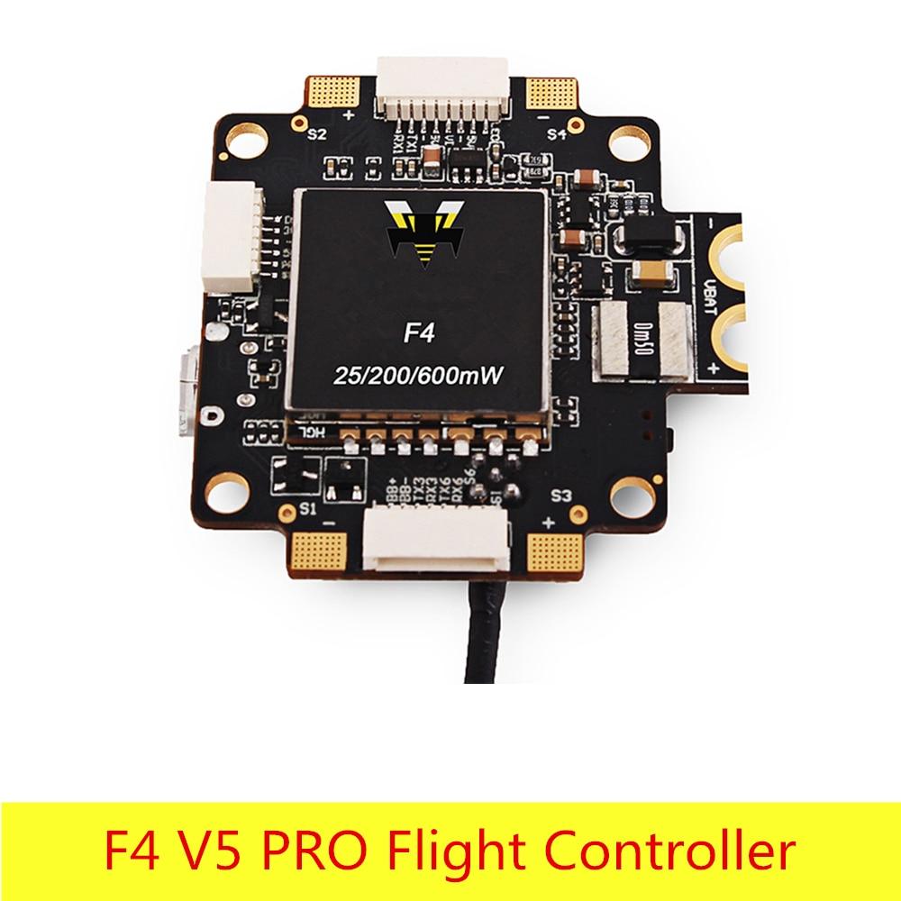 F4 V5 PRO Flight Controller with 5V 3A BEC / Current Sensor / 5.8GHz 40CH 25mW 200mW 600mW FPV Transmitter fx fx796t fx799t micro 5 8g 40ch 200mw av race transmitter