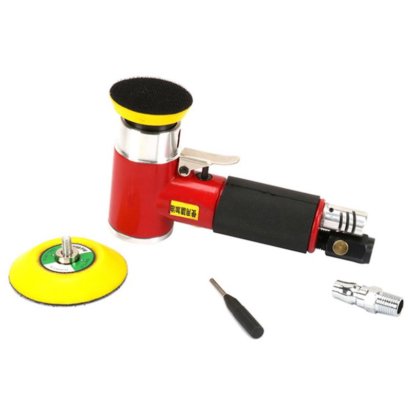 2inch 3inch Mini Air Sander Kit Pad Eccentric Orbital Dual Action Pneumatic Polisher Polishing Buffing Tools For Auto Body Wor