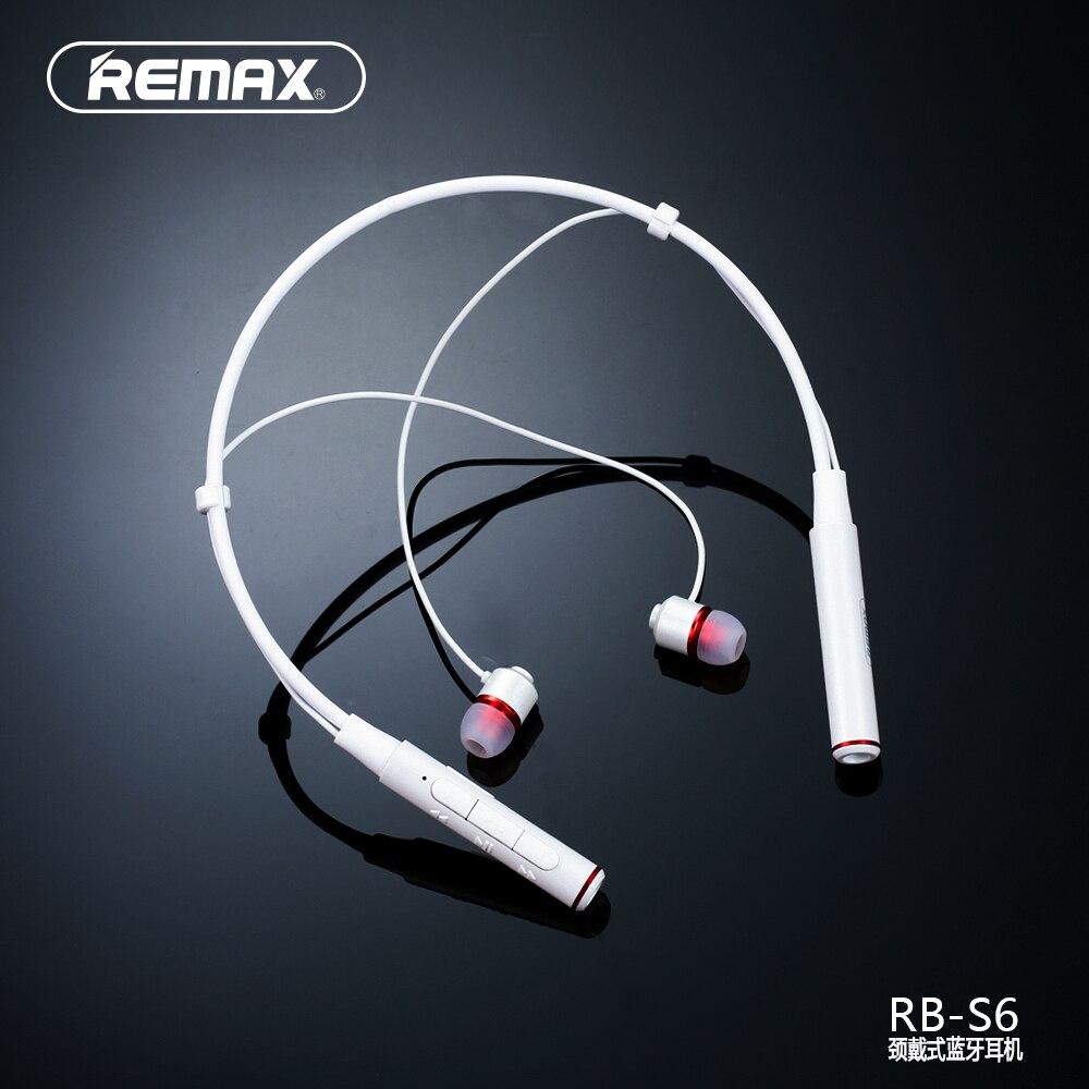 REMAX HALSBAND Läuft Drahtlose Bluetooth V4.1 Sport Kopfhörer Headset HD Sprachanruf Erinnern Magnetische Ohrhörer 105dB Li-polymer