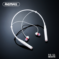 REMAX NECKBAND Wireless Bluetooth V4 1 Sport Earphone Headset HD Voice Call Remind Magnetic Earbuds 105dB